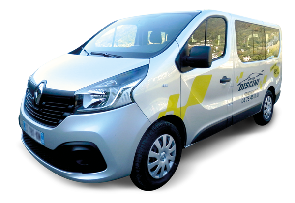 Renault Trafic Combi 9 places en location - Garage Discini Allevard