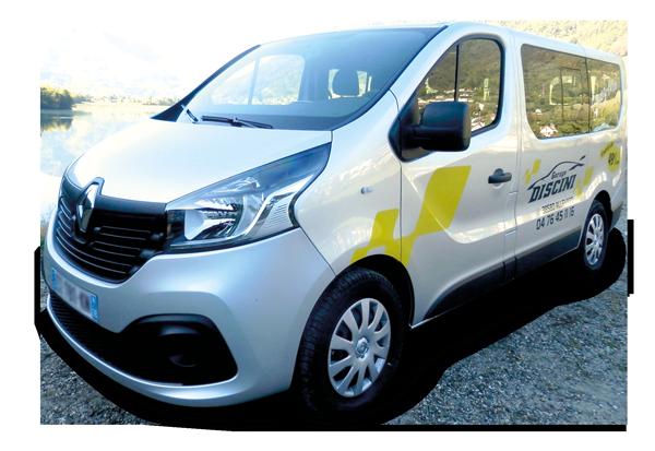 Renault Trafic Combi 9 places en location - Garage Discini Allevard